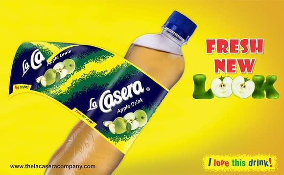 La Casera Apple drink Advertisement